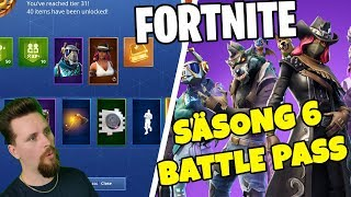 BUY BATTLE PASS AND SHOW EVERYTHING | SEASON 6 FORTNITE