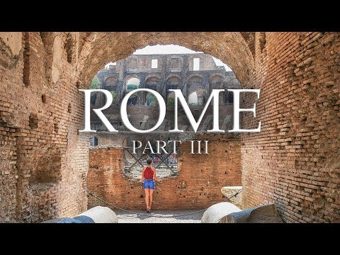 COLOSSEUM and ROMAN FORUM  | Rome Travel Vlog Part III