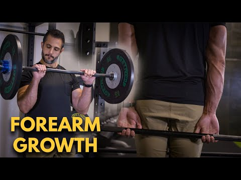 5 Exercises For HUGE Forearms & A STRONGER Grip (FREE Big Arms Guide)