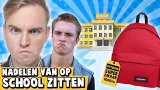10 NADELEN VAN OP SCHOOL ZITTEN!