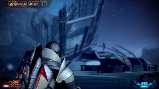 Mass Effect 2 DLC Normandy Crash Site PC Gameplay Maxed Out Settings