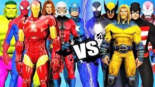 THE AVENGERS (CLASSIC) vs THE DARK AVENGERS - Epic Battle