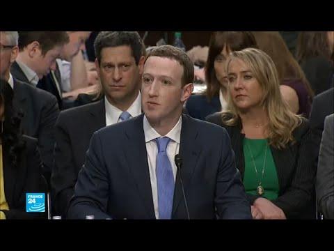 مدير فيسبوك مارك زاكربرغ أمام البرلمان الأوروبي  - 18:22-2018 / 5 / 22