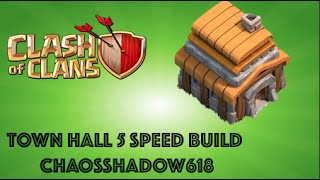 Clash of Clans |BEST TOWN HALL 5 - HYBRID BASE| Speed Build Ep.# 12 - 2015!