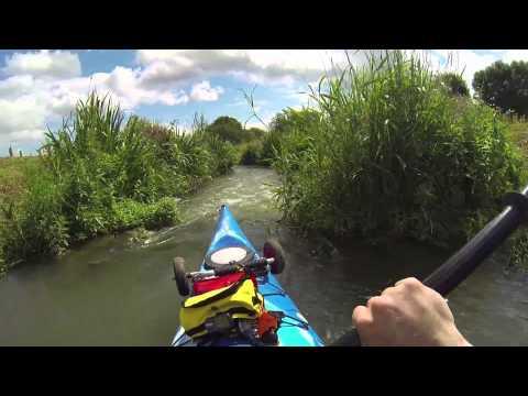 Thames Radcot Lock Canoe Pass - I Failed!