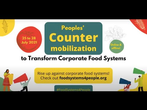 Africa responds to the UNFSS – #FoodSystemsForPeople | 27 July 2021