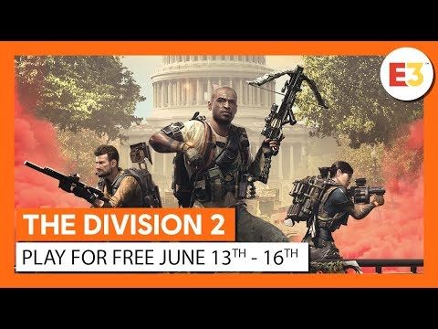 OFFICIAL THE DIVISION 2 - PLAY FOR FREE JUNE 13-16