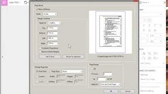 How to Crop a PDF in Adobe Acrobat Pro DC - Remove or Adjust Margins on All Pages