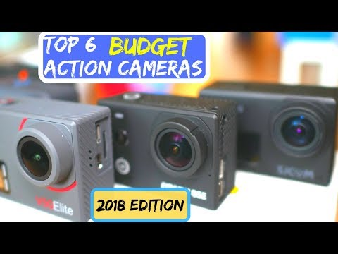 Top 6 BEST Budget 4K Action Cameras of 2018 and good for 2019