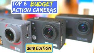 Top 6 BEST Budget 4K Action Cameras of 2018