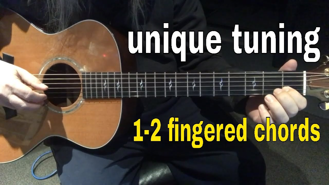Sounds hard but it's EASY- Fingerstyle Songs for Beginners #2 [Lesson 1]