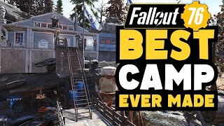 Fallout 76: Best Camp Ever Made! Top Camps Ep.24