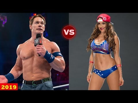 John Cena vs Nikki Bella Transformation 2019 - WWE Couple Transformation