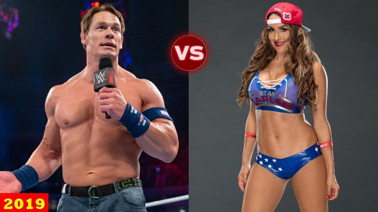 John Cena Vs Nikki Bella Transformation 2019 Wwe Couple Transformation Youtube