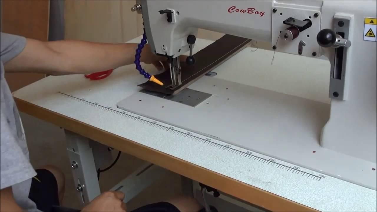 Máquina de coser material pesado, triple arrastre CB7243