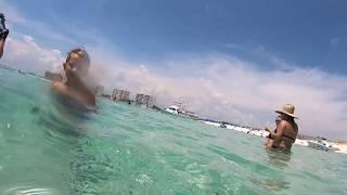 Snorkeling at the Destin Jetties - raw video 7