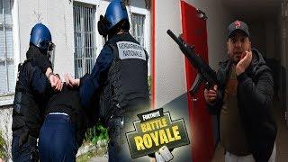 LA POLICE M'ARRÊTE À CAUSE DE FORTNITE