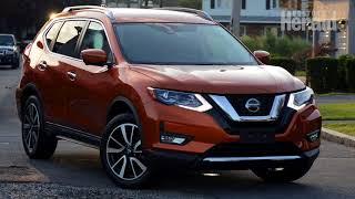 2018 Nissan Rogue test drive