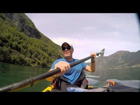 Fake Travel Guide: Aurlandsfjorden Kayaking