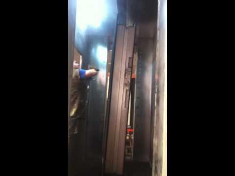 Electrostatic Powder Coating Booth for Steel Door (Manuel) - Makbes Makina