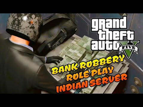Bank Robbery GTA 5 Role Play India Server by Daddy Cool live stream Highlight, Check  Description !
