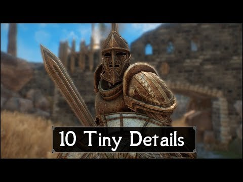 Skyrim: Yet Another 10 Tiny Details That You May Still Have Missed in The Elder Scrolls 5 (Part 46) thumbnail