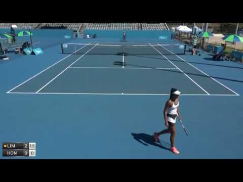 Lim Alize v Hon Priscilla - 2017 ITF Perth