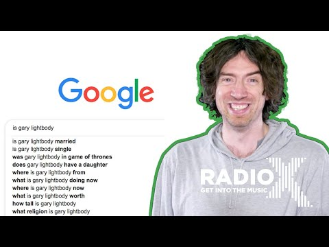 According to Google | with Snow Patrol's Gary Lightbody