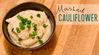 P3 Hcg Diet Recipes: Mashed Cauliflower - Dairy Free - Paleo - Low Carb