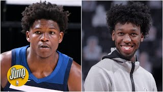Who's had the more impressive NBA rookie start: Anthony Edwards or James Wiseman? | The Jump