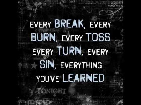 The Script - Broken arrow lyrics