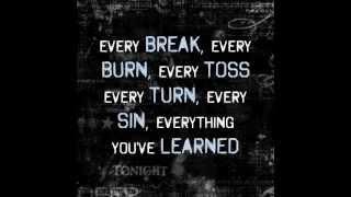 The Script - Broken arrow lyrics