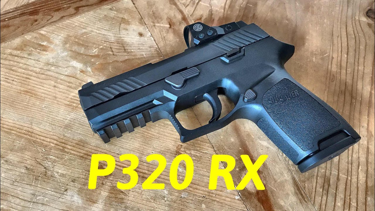 Sig Sauer P320 Compact RX - The P320 Compact Has A New Trick!
