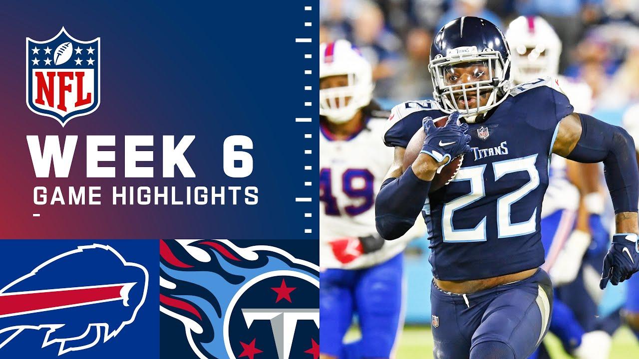 Download Bills vs. Titans Week 6 Highlights | NFL 2021