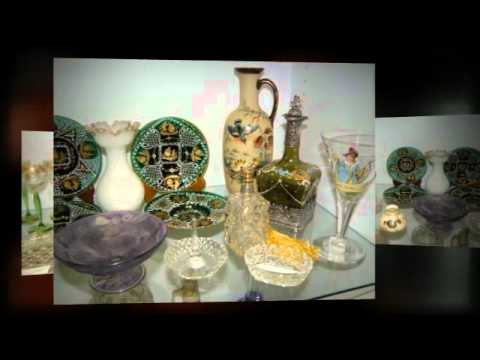 Art Glass and Art Pottery - Antique Galleries of St. Petersburg
