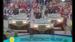 Desfile militar del Bicentenario, Parte 1
