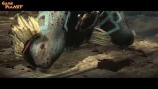 Kitana en Mortal Kombat X trailer