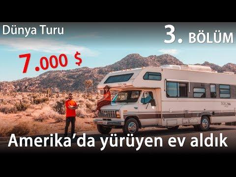 7000 $ Ile Amerika'da Yürüyen Ev Aldık | KARAVAN Hayatı Başlıyor | 3.Bölüm
