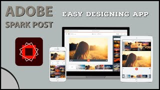 Easy Graphic Design & Story Templates | Mobile Editing Application | Spark Post | Malayalam Tutorial screenshot 3