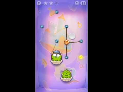 Cut The Rope Time Travel Level 1-4 Walkthrough | The Middle Ages Level 1-4 Walkthrough