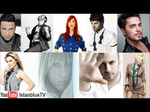 Турецкая музыка  Turkish Pop Music  Türkçe Pop Müzik Mix