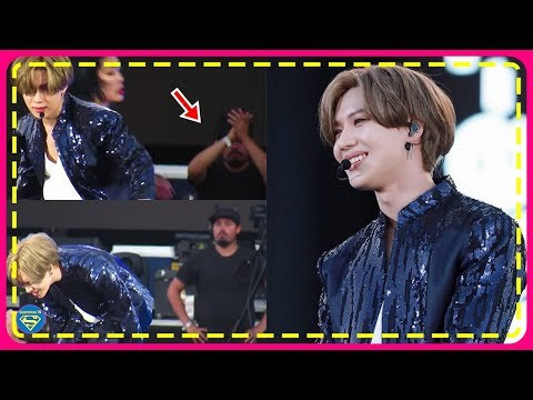 SHINee's Taemin's Stage was So Breathtaking That a Cameraman Stopped Filming, Just to Clap for Him