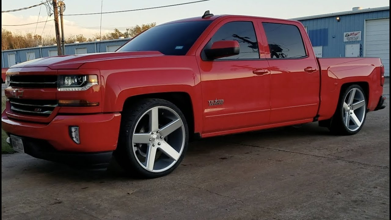 "1999-2007 Chevy Silverado GMC Sierra 1500 2/"" SHOCKS 4/"" Spindles Lower Drop"