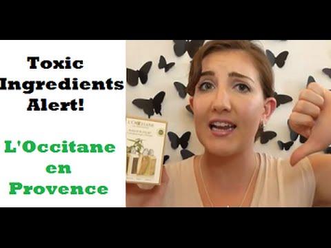 Toxic Ingredients Alert -  L'Occitane en Provence!