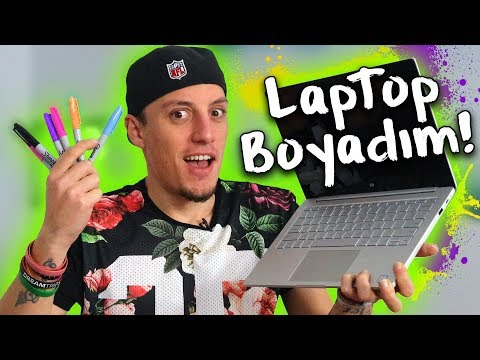 Laptop'a Graffiti Yaptım - Gist 2018