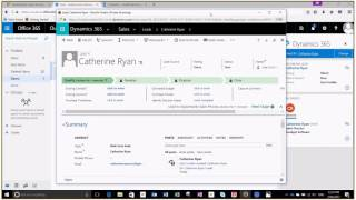 Dynamics 365 Integration with Outlook in Office 365