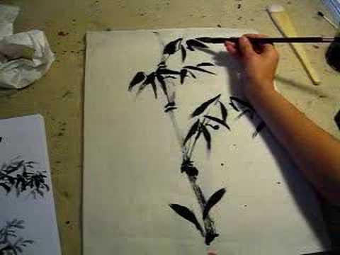 Painting Bamboo Youtube