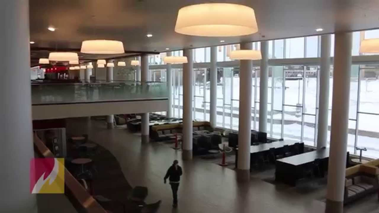 A Look Inside The New University Center At Ferris State University   YouTube Part 31