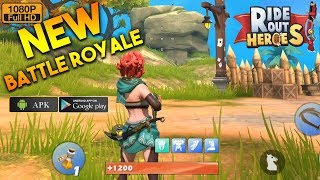 RideOutHeroes Gameplay Android - Brand New Battle Royale Mobile