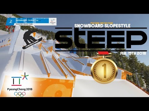 [STEEP] PyeongChang 2018 FS SlopeStyle Snowboard - GOLD